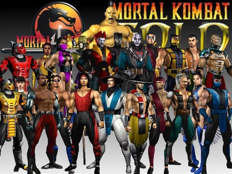 Mortal Kombat 4  PC  Full 15 MB Mortal Kombat Characters